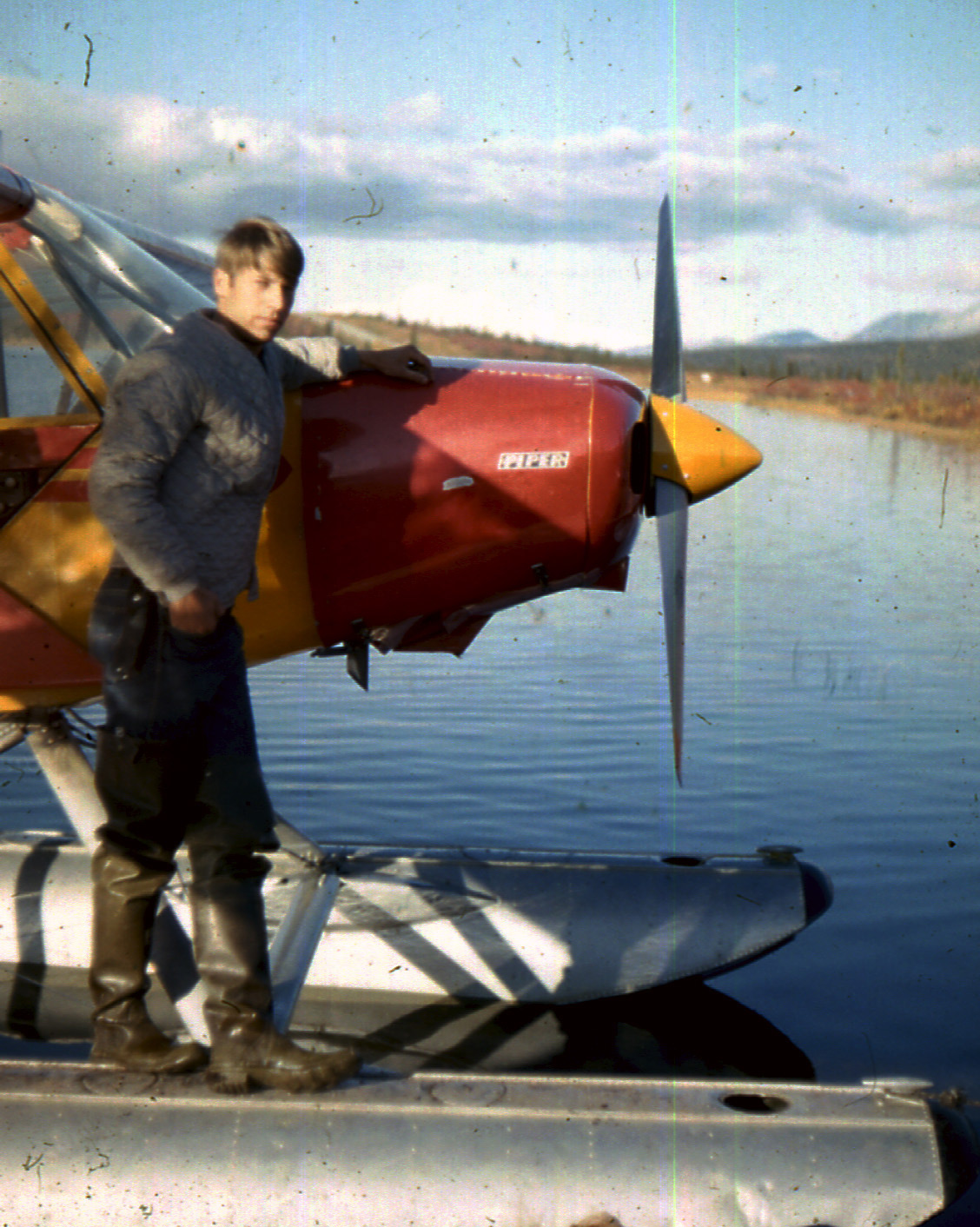 Flying Alaksa on Floats 1968