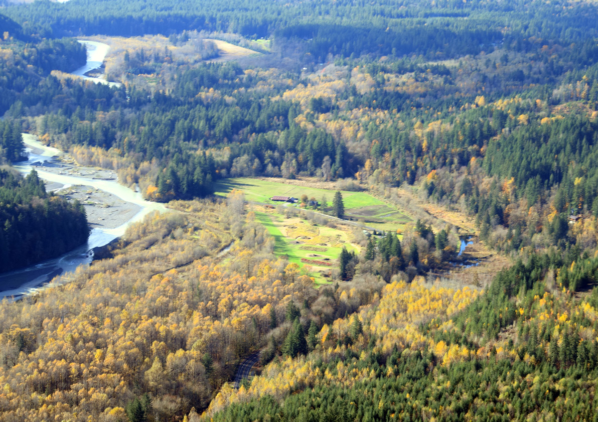 Mt Baker Airfield and Homesite