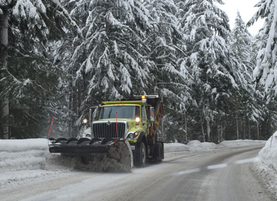 Mt Baker snow plow