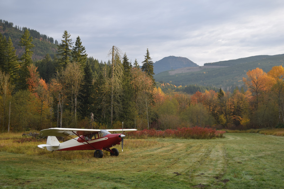 Mt Baker Airfield in the Fall